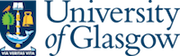 Colour logo of the University of Glasgow showing the University crest alongside the organisation name