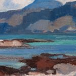 Detail from, Ben More from Iona, by Samuel John Peploe (1871-1935), painting, oil on canvas, Hunterian Art Gallery, University of Glasgow
