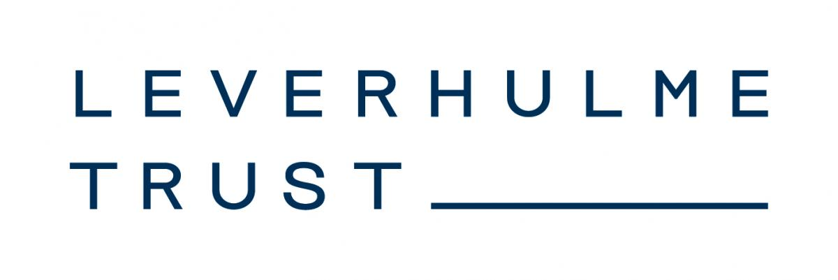 Colour logo of The Leverhulme Trust showing the organization name