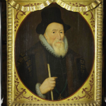 Colour photograph of the Knole House Portrait of Thomas Sackville (courtesy of the National Trust)