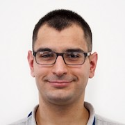 Colour portrait photograph of Daniele Barbera, researcher and TAHG member at the University of Glasgow