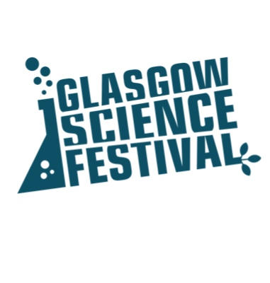 Logo of the Glasgow Science Festival
