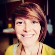 Colour portrait photograph of Michela Botticelli, researcher and TAHG member